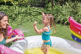Детский надувной бассейн Единорог Intex 57441, фото 3