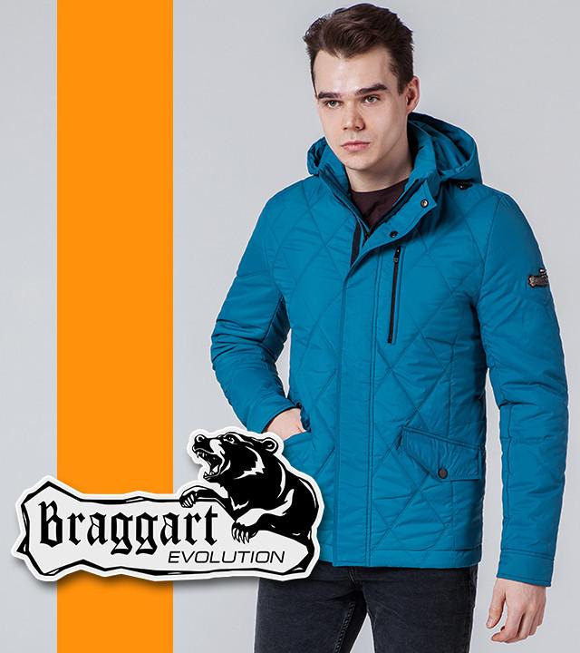Бирюзовая мужская демисезонная куртка