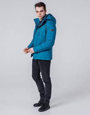 Бирюзовая мужская демисезонная куртка, фото 2