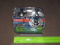 Лампа фарная H4 12V 100/90W P43t COOL BLUE BOOST DUOBOX 4500К (пр-во OSRAM) 62193CBB-HCB-DUO