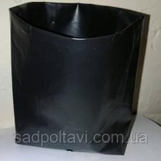 Пакет-горшок 1,5л для саженцев 12*18 с фальцами 4см упаковка 500шт