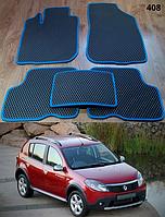 Коврики на Renault Sandero '08-12. Автоковрики EVA