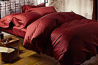 Наволочка 50х70 Красное вино Роял сатин
