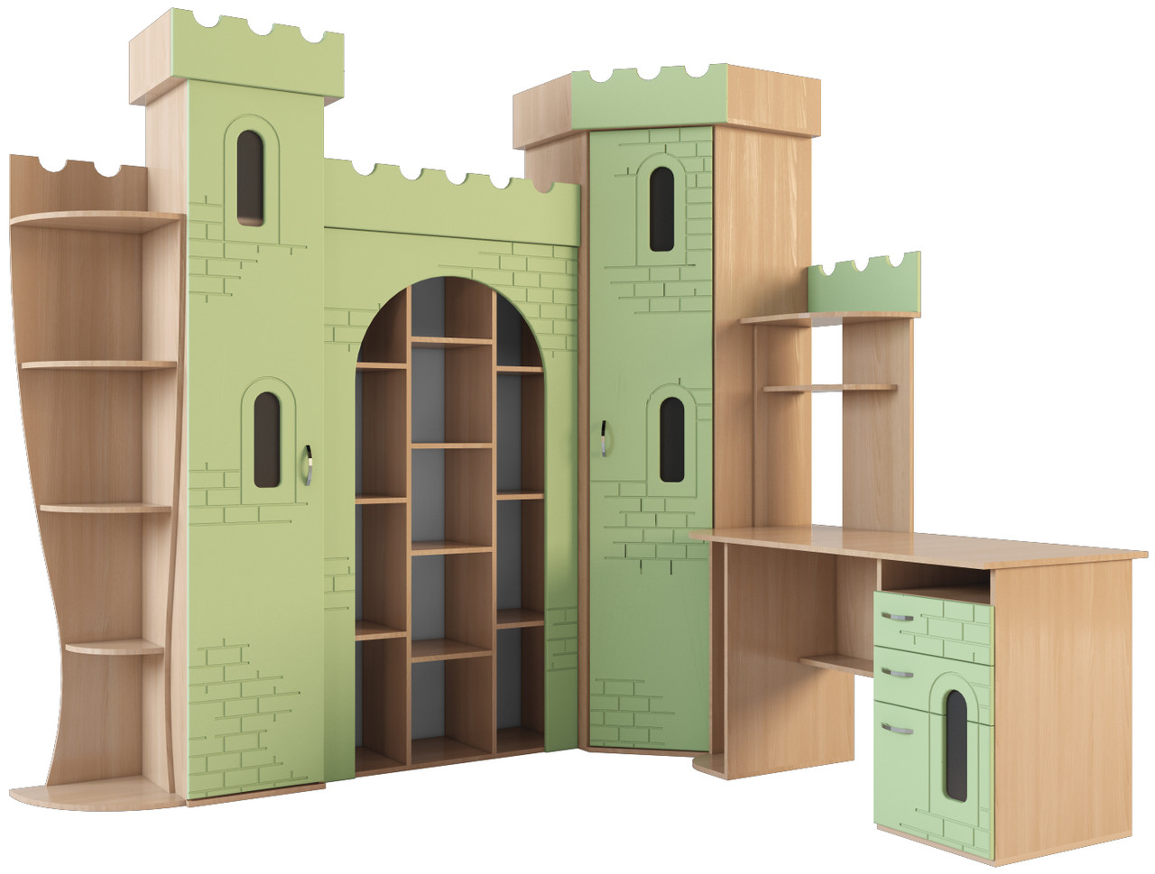 Набор мебели  для детской комнаты «ЗАМОК», фото 1