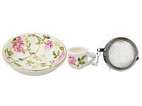 Набор для чая с подставкой Lefard Орхидея 7 см, 943-062