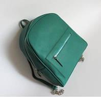 Рюкзак женский Mango зеленый изумруд 2017