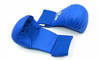 Zelart Перчатки для каратэ BO-5076-R PU манжет на резинке