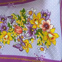 "Полотенце кухонное  ""Тиротекс"" цветы, фото 1"