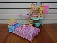 Кукольная мебель Глория 21014 Спальня для кукол Барби, Gloria