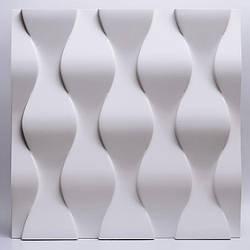 Декоративные гипсовые 3D панели Gipster «Чешуя»