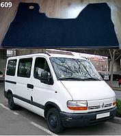 """Коврики на Renault Master '97-10. Текстильные автоковрики. Тип """"Бюджет""""."""