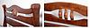 Кровать двухспальная Даллас Юта (массив ольхи) 160х200, фото 2