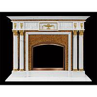 Мраморный портал с колонами