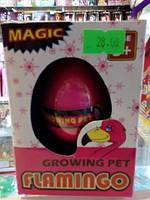 "Яйцо с растущими животными ""фламинго"""