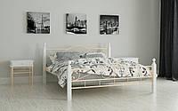 """Кровать металлическая на деревянных ножках """"Мадера"""" 120 х 190"""
