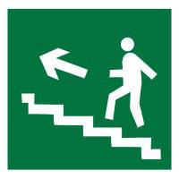 """Знак эвакуации """"Выход по лестнице"""""""