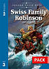 Top Readers Swiss Family Robinson Pre-Intermediate Book with CD  \level 3\