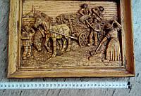 Резная трехмерная картина из дерева Германия
