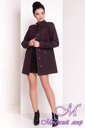 """Стильное демисезонное кашемировое пальто (р. S, M, L) арт. """"Мирта 4371"""" - 21039, фото 2"""