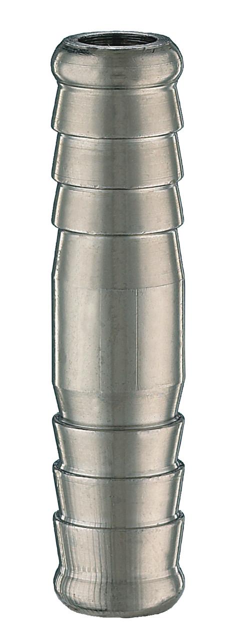 Соединитель ёлочка , для резинового шланга с внутр. Ø8мм.