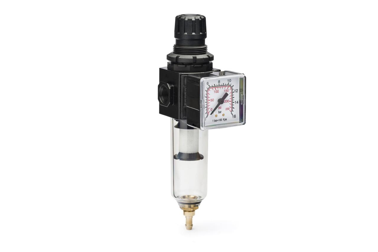 Воздушный фильтр с регулятором давления 1/4' ' ANI E/14/2