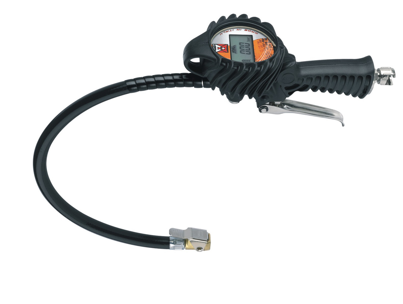 Пистолет для накачки шин электронный обрезиненный 25/GR-D 15/A OMNI ANI