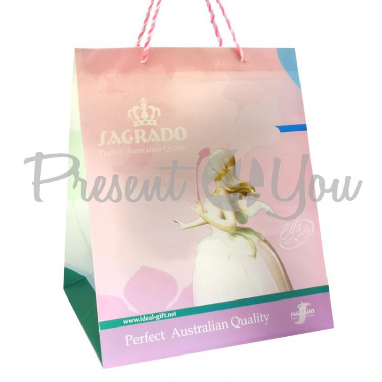 Пакет подарочний «Балерина» 29х23,8х19,8 см.