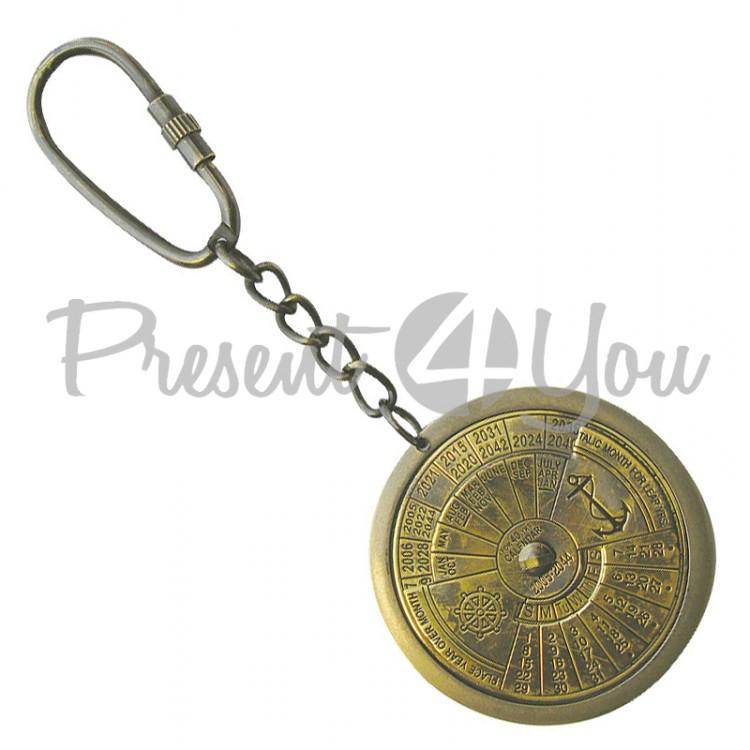 Морской сувенир брелок Календарь Sea Club (1020T.V)