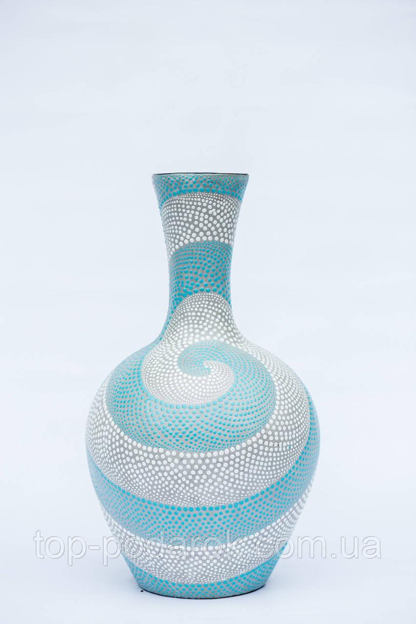Ваза керамическая напольная высота 60 см