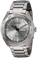 Мужские часы Citizen Eco-Drive Silver Titanium-AW0060-54A
