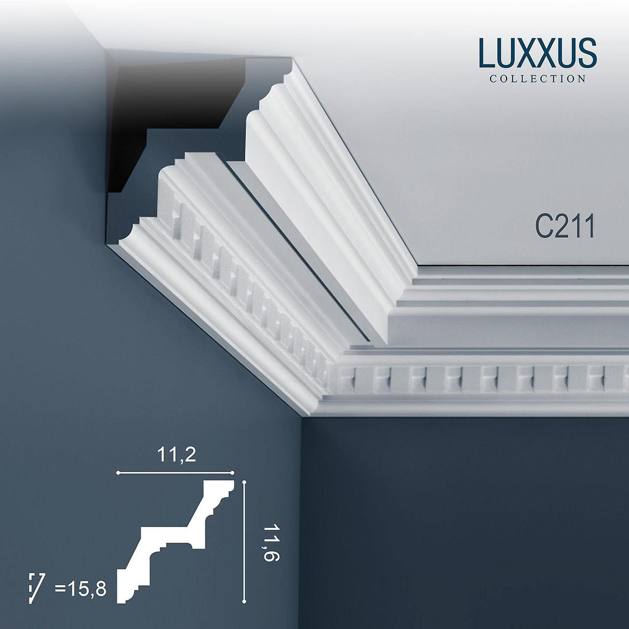 Лепнина Орак Декор C211 Карниз с орнаментом Orac Luxxus