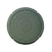 Люк круглый облегченный (зеленый) до 3т А15 (Руслана)