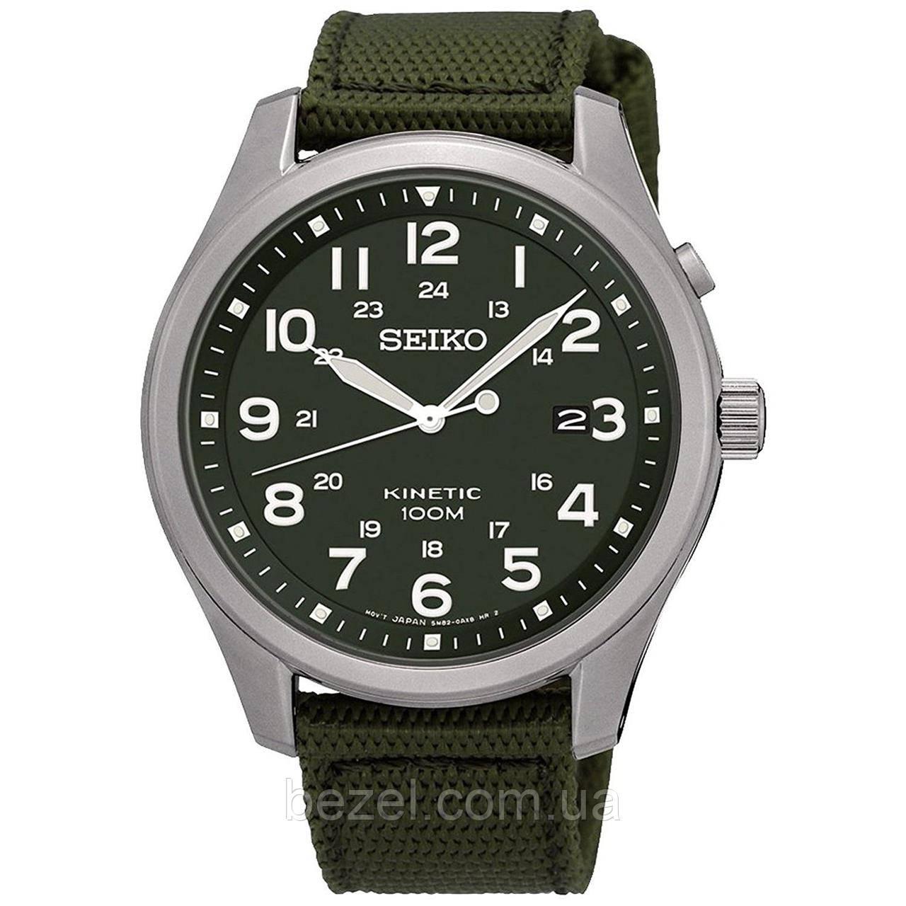 Часы наручные мужские seiko kinetic подставка для хранения часов наручных
