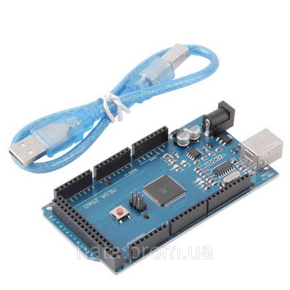 Микроконтроллер модуль Arduino Mega 2560 Rev3 - Интернет-Магазин  ХАТА в Киеве