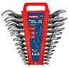 Набор ключей рожковых двухсторонних 6 штук, Cr-V, Technics (48-900)