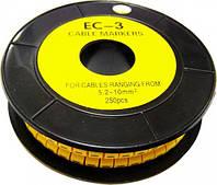 Кабельная маркировка ЕС-3  (5,2-10,0 кв.мм)