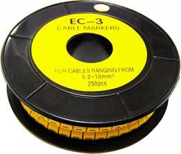 Кабельная маркировка АСКО-УКРЕМ ЕС-3 (5,2-10,0 кв.мм)