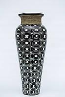 Ваза напольная керамическая высота 60 см