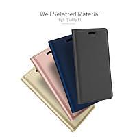 Кожаный чехол книжка Kiwis на Lenovo Vibe K5 Note Pro (4 цвета)