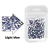 Стразы для ногтей (стекло) Light blue (50 шт.)
