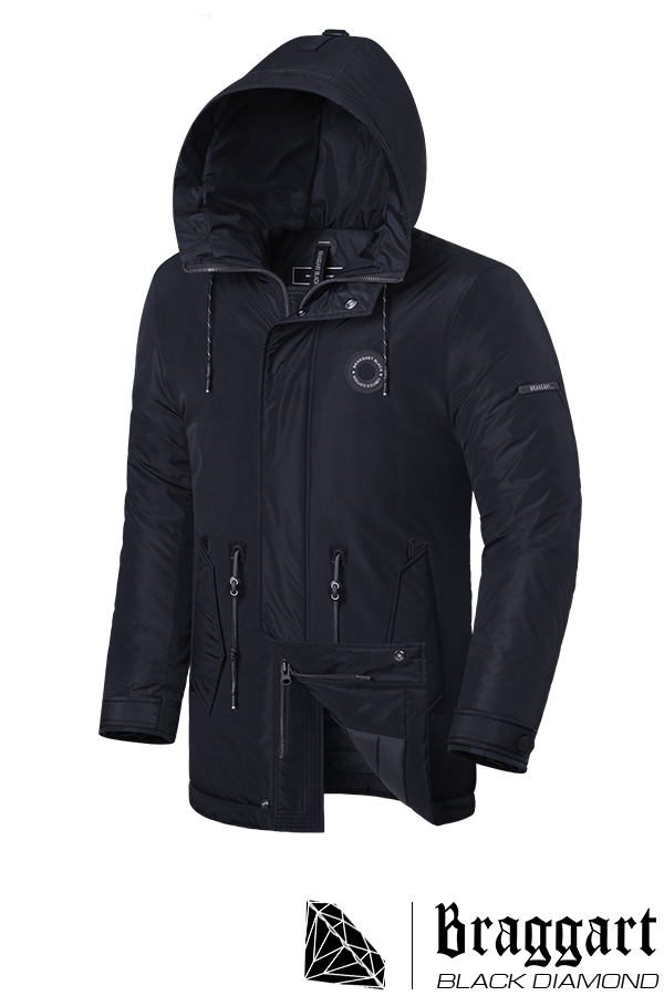 Мужская зимняя куртка Braggart Black Diamond (р. 46-56) арт. 4862 М