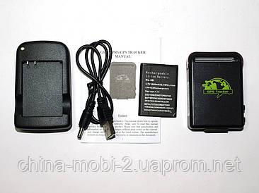 Персональний GPS трекер маяк SOS мікрофон tracker TK102B+ з док станцією для АКБ
