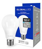 Светодиодная лампа MAXUS A60 10W 4100K 220V E27 AL