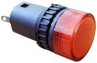 Сигнальная арматура красная  АD16-16DS 24В АС/DC