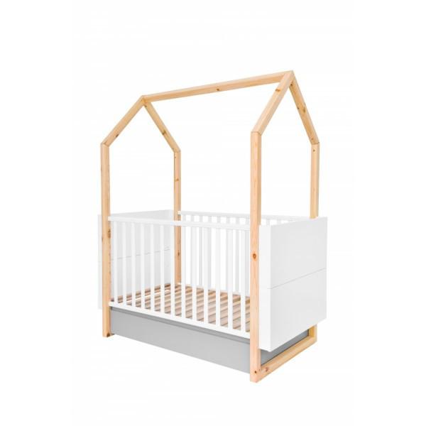 Кроватка-трансформер домик Bellamy Pinette