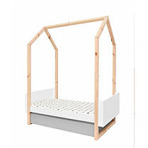 Кроватка-трансформер домик Bellamy Pinette, фото 3