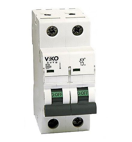 VIKO Автомат 2С(2-полюс)25А 4,5КА 230*400V тип С