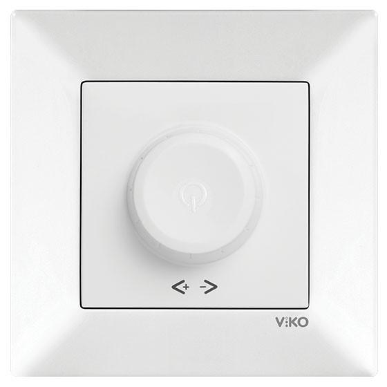 Светорегулятор VIKO Meridian 600w 90970020-WH белый