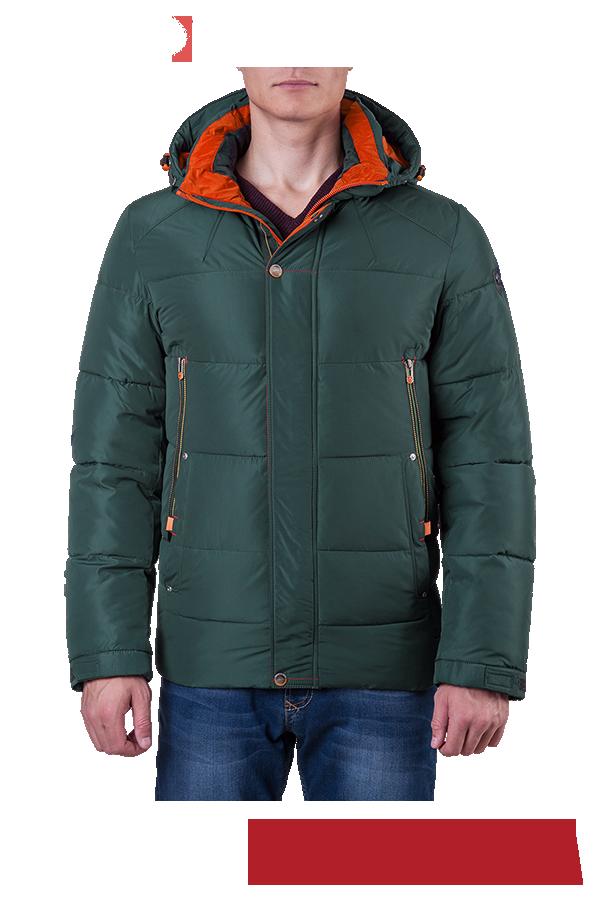 54f5dac3231 Мужская зеленая зимняя куртка с капюшоном MANIKANA (р. 46-56) арт ...
