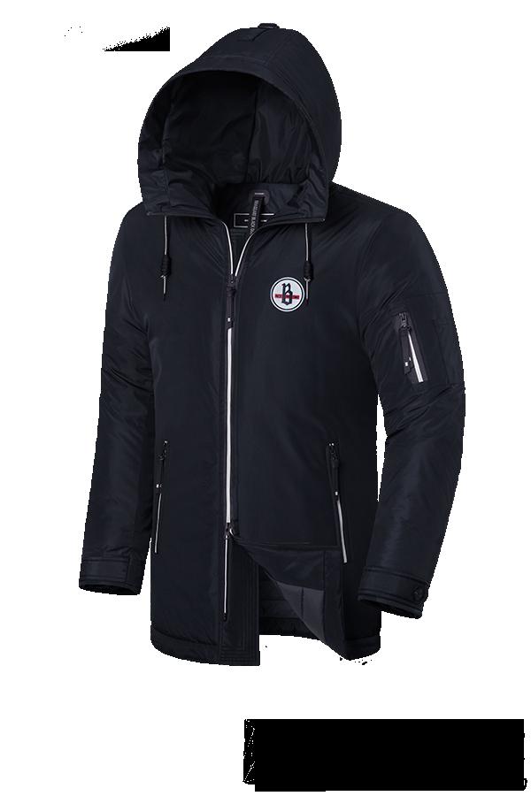 """Мужская зимняя куртка Braggart """"Black Diamond"""" (р. 46-56) арт. 9071 D"""